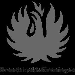 Brandskyddsföreningen grå logotyp