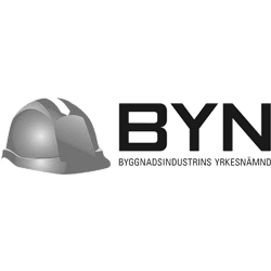 Byggindustriernas Yrkesnämnd grå logotyp