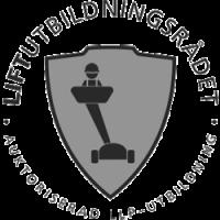 Liftutbildningsrådet grå logotyp