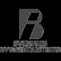 Sveriges Byggindustrier grå logotyp