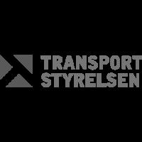 Transportstyrelsen grå logotyp