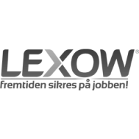 Lexow grå logotyp